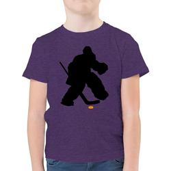 Shirtracer T-Shirt Eishockeytorwart Towart Eishockey - Eishockey - Jungen Kinder T-Shirt - T-Shirts eishockey trikot 164 (14/15 Jahre)