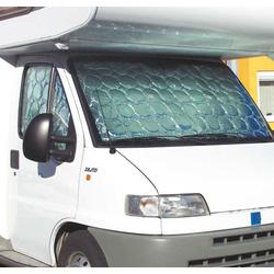 Thermomatten-Set für VW Caddy mit 1 Schiebefenster grau