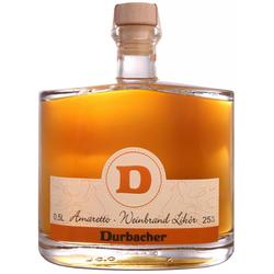 Durbacher Amaretto-Weinbrand Likör 25,5% 0,5 Liter