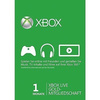 Microsoft Xbox Live Gold (1 Monat)