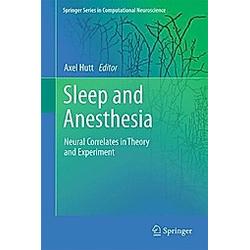 Sleep and Anesthesia - Buch