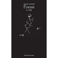 Poesie I-VII. Georges Schehade  - Buch