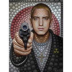 Poster »Eminem«, Bilder, 39313962-0 bunt 60x80 cm bunt