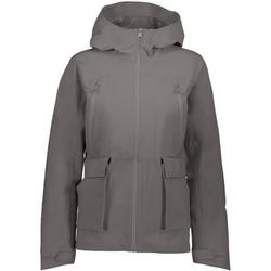 CAMPAGNOLO Outdoorjacke Campagnolo Stretch Fix Hoodie Jacke urbane Damen Regenjacke mit ClimaProtectPro und 3-Layer Übergangsjacke Grau