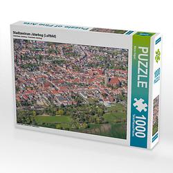 Stadtzentrum Jüterbog (Luftbild) Lege-Größe 64 x 48 cm Foto-Puzzle Bild von Mario Hagen Puzzle