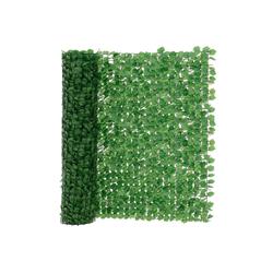 Sichtschutzzug, neu.haus, Blätterzaun Efeu Sichtschutzzaun Balkon Sichtschutz 300x150cm Grün 300 cm x 150 cm