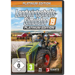 Landwirtschafts-Simulator 19: Platinum Edition PC USK: 0