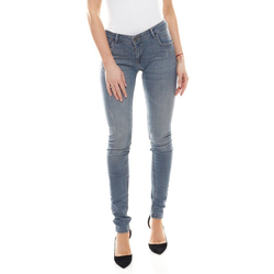 Coccara Regular-fit-Jeans COCCARA Bella Jeans bequeme Damen Denim-Hose mit Used-Look-Details Five-Pocket-Hose Blau W27