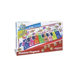 Bontempi Spielzeug-Musikinstrument Musikmatte Klavier