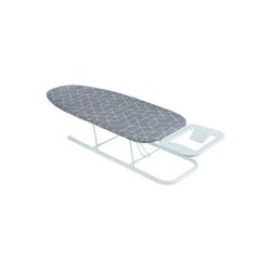 ONVAYA Tischbügelbrett Tischbügelbrett, Mini Bügelbrett, Bügeltisch, Kleines, platzsparendes Bügelbrett grau