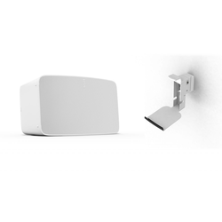 Sonos Five   WLAN Speaker inkl. Flexson Wandhalterung weiss (Sonos Five WLAN Speaker für Musikstreaming  ...)