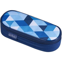 Faulenzer Etui Blue Cubes