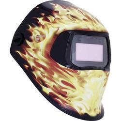 Speedglas 100V Blaze 7100166708 Schweißerschutzhelm Schwarz, Flame EN 379, EN 166, EN 175, EN 169