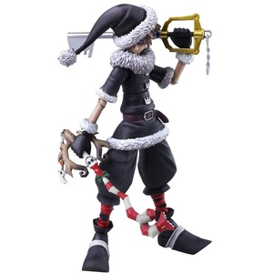 Square Enix Arts - Kingdom Hearts II Sora Christmas Town Version Action Figur, Mehrfarbig, 15cm