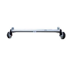 ACHSE 1500 KG, 1510 mm, GEBREMST, für Pkw- Anhänger, AL-KO