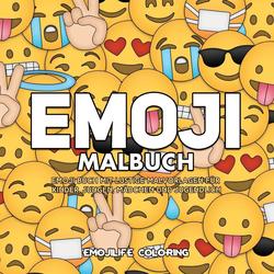 Emoji Malbuch als Buch von Emojilife Coloring