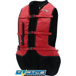 Helite Airnest Airbag Weste, rot, Größe S