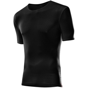Löffler Herren Unterhemd Shirt Transtex Light Ka, schwarz, 46