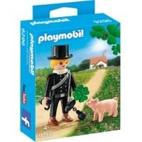 Playmobil Schornsteinfeger mit Glücksschweinchen 9296