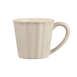 Ib Laursen Vorratsglas Becher MYNTE Latte beige creme weiß Tasse Landhausgeschirr von IB LAURSEN