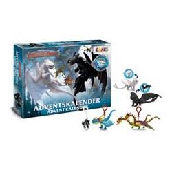 CRAZE Adventskalender Dragons 3 mit 24 Überraschungen ab 3 Jahren