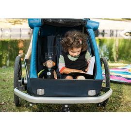 Croozer Kid Plus für 2 ocean blue 2019