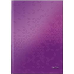 Notizbuch »WOW 4628« A5 kariert - 160 Seiten violett, Leitz