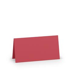Rössler Papier Tischkarten Paperado 100mm x 100mm in der Farbe Rot