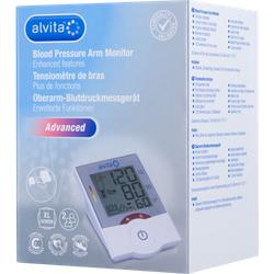 ALVITA Oberarm Blutdruckmessgerät Advanced 1 St