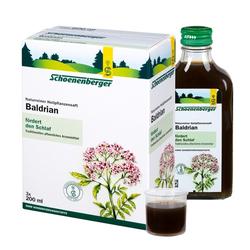 BALDRIAN HEILPFLANZENSÄFTE Schoenenberger 3X200 ml