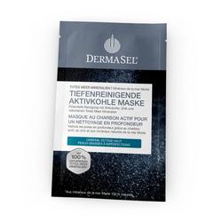 DERMASEL Maske Aktivkohle tiefenreinigend 12 ml