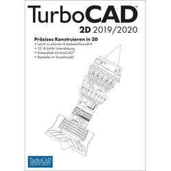 Avanquest TurboCAD 2D 2019/2020