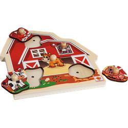 EICHHORN Puzzle mit Sound Kinderspielzeug Mehrfarbig