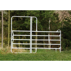 Zaunelement Pony Panel mit Tor - 2,40 m breit - Tierzaun