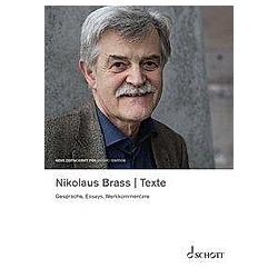 Nikolaus Brass - Texte. Nikolaus Brass  - Buch