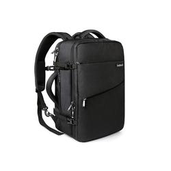 Inateck Reiserucksack 40L Supergroßer Handgepäck Reiserucksack Laptop Rucksack für 15,6-17 Zoll Notebooks, Flug Genehmigt schwarz
