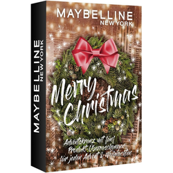 MAYBELLINE NEW YORK Adventskalender Adventskranz (5-tlg), Mini Adventskalender