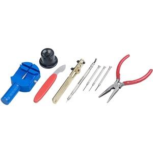 Uhrmacherwerkzeug-Set, 9-teilig, Profi-Qualität, Aufbewahrungsbox