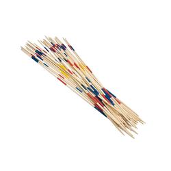 Idena Spiel, Garten Mikado XXL Set - 31 Stäbe aus Bambus - ca. 90 cm lang - mit Spielanleitung