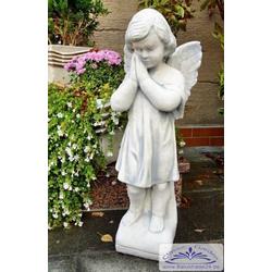 SA-N713 Gartenfigur Engelfigur betender Engel Gartendeko Figur 55cm