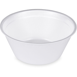 Thermobehälter rund aus EPS, weiß 500 ml, Ø 14 cm, 50 Stk.