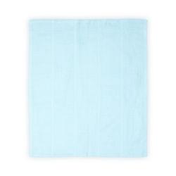 Babydecke Babydecke, Lorelli, Kuscheldecke Baumwolle, Größe 75 x 100 cm, ab Geburt blau