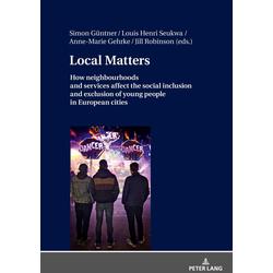 Local Matters als Buch von