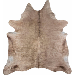Fellteppich Rinderfell 3, LUXOR living, tierfellförmig, Höhe 3 mm, echtes Rinderfell 130 cm x 190 cm x 3 mm