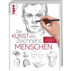 Die Kunst des Zeichnens - Menschen als Buch von frechverlag