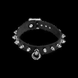 Rimba Leder-Halsband mit Killernieten