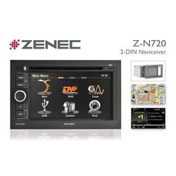Zenec Audio-System (Zenec Z-N720, 2DIN Naviceiver mit Bluetooth / USB, Autoradio)