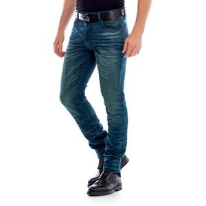Cipo & Baxx Slim-fit-Jeans im 5-Pocket Style in Straight Fit grün 34