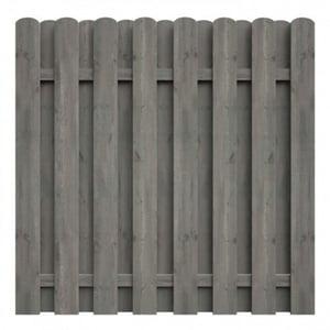 Bohlenzaun kdi grau 180x180