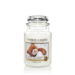 YANKEE CANDLE Große Kerze SOFT BLANKET 623 g Duftkerze